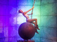A waxwork of Miley Cyrus at The Madame Tussauds museum in Las Vegas (Shutterstock/ File Photo)