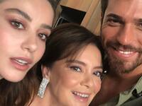 Can Yaman, Özge Gürel and Other Stars Say Goodbaye to Bay Yanlış By Posting Behind the Scenes Pictures