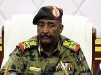 Sudanese Lieutenant General Abdel Fattah al-Burhan in the capital Khartoum. (AFP/ File Photo)