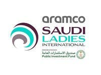Aramco Saudi Ladies International logo
