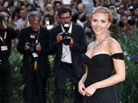 Actress Scarlett Johansson attends 'Under The Skin' Premiere during the 70th Venice Film Festival. (Shutterstock)