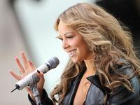 Mariah Carey on stage for NBC Today Show Concert with Mariah Carey, Rockefeller Plaza, New York, NY. (shutterstock)