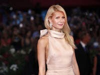 Actress Gwyneth Paltrow attends the premiere of 'Contagion' during the 68th Venice Film Festival. (shutterstock)