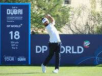 Rozner in action at the Golf in Dubai Championship presented by DP World (Photo: Supplied)