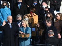 Joe Biden Sworn in as 46th President of the USA (AFP)