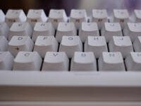 7. The ridges on (J) and (F) buttons on keyboards