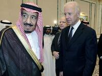 Saudi King Salman and US President Joe Biden (Twitter)