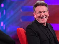 Gordon Ramsay rudely blames the woman's tooth gap for his answers.