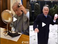 The prime minister of Israel has been super active since opening the TikTok account as he gained huge fans in short period. (TikTok)