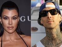 American reality TV star Kourtney Kardashian and musician Travis Barker are taking their relationship to the next level. (AFP)
