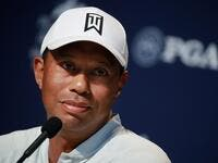 Woods was injured after the car he was driving met with an accident in Los Angeles County on Tuesday (Photo: AFP)