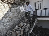 A strong 6.3-magnitude earthquake hits Greece