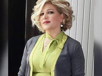 "Lebanese singer Nawal Al-Zoghbi posted a picture of her mother and called her called her ""the most beautiful, sweetest and tender mum ever"""