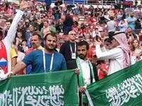 Saudi Arabia said it would allow people who have been vaccinated against COVID-19 to attend sporting events at stadiums at a capacity of 40 percent. (Photo: Asharq Al-Awsat)