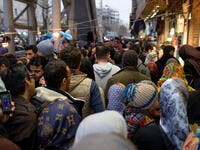 Crowded streets in Tehran is not the way to stop Covid spread