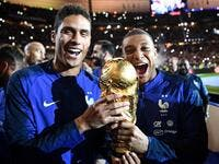 Varane and Mbappe (Photo: AFP)