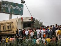 Yet another tragic rail accident hits Cairo in its Qalyubia suburb