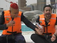 'Angelina Jolie's Lips'! Hamada Helal Seriously Injured in Ramez Galal's Prank.. Video