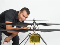 Loay Elbasyouni is part of the Nasa team responsible for the mini helicopter that landed on Mars