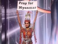 She won the hearts of Myanmar