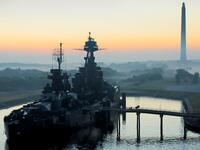 Last remaining American battleship to have served in the war (Twitter)