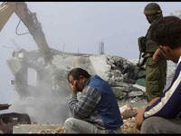 israel demolishes palestinian home