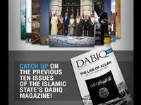 The magazine features transcripts of the final statements of suicide bombers, interviews with the leaders of ISIS affiliates in other parts of the world, and lots of quotes from the Quran, the prophet Muhammad, and 7th & 8th century Islamic leaders.