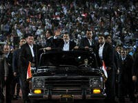 Morsi rides high on the glory of power
