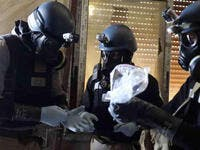 chemical inspectors syria