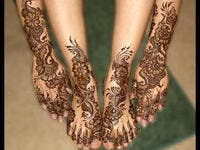 Henna for the bride