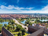 8. Copenhagen: Denmark's capital ranked 8th with an average salary of $3,190.