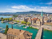 2. Zurich: The swiss city made it to the list with an average monthly salary of $5,896.