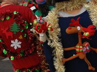 Alaska Airline Offers Priority Boarding for Passengers in Ugly Christmas Sweaters