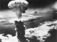 Mushroom Cloud of Atom Bomb exploded over Nagasaki, Japan (Shutterstock)