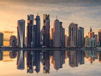 The skyline of Doha, Qatar  (Shutterstock)