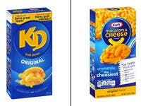 8.Kraft's boxed Macaroni and Cheese: Kraft Macaroni and Cheese/KD