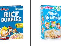 4.Kellogg's cereal: Rice Krispies/Rice Bubbles