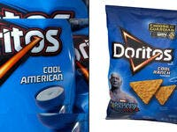 7. Doritos: Cool ranch flavor/Cool American flavour