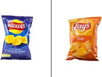 3.The Potato chips: Lay's/Walkers