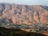 Netanyahu pledged last week to annex the Jordan Valley, which amounts to one-third of the West Bank, if he wins Tuesday's elections /AFP