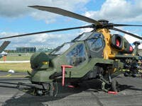 The Turkish T129 Advanced Attack and Tactical Reconnaissance helicopter