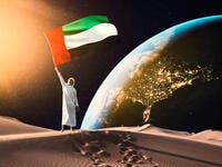 UAE Launches Satellite MeznSat from Russia Into Space