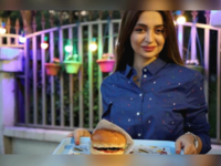 Zilan Serwud, 22, needed family approval before opening her food truck selling burgers in Iraqi Kurdistan.