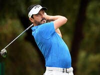 Lorenzo-Vera in action at the DP World Tour Championship