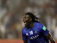 Former Swansea City striker Bafetimbi Gomis got the winning goal as Al-Hilal beat Esperance de Tunis in Qatar.
