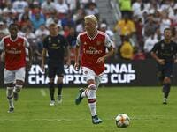 The Gunners' German defender sees a fellow countryman playing with a smile on his face again, with form rediscovered by a divisive figure