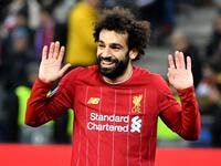 The Egypt international's finish from a tight angle against Salzburg booked the Reds' passage into the Champions League last 16 on Tuesday