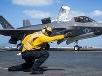 American F-35 fighter jets. (AFP/ File Photo)