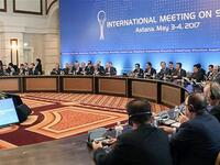 Astana Talks was mainly on Syria war last year. (AFP photo)