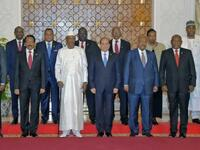 African leaders at a summit in Cairo on April 23, 2019. (AFP / File)